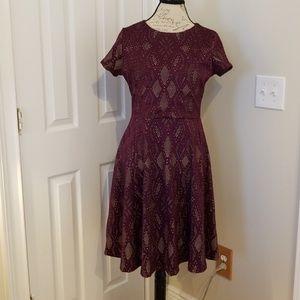 Renee c Shilo Textured Knit Dress size L